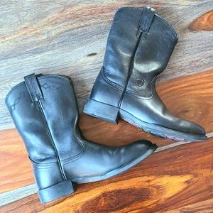 Ariat leather boots 7